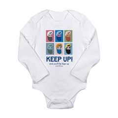 Keep Up! Long Sleeve Infant Bodysuit