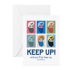 Keep Up! Greeting Cards (Pk of 20)