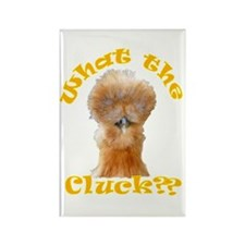 What the Cluck Rectangle Magnet