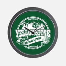 Yellowstone Old Circle Wall Clock