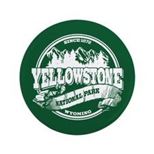 "Yellowstone Old Circle 3.5"" Button"