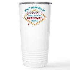 Las Vegas Stays At Grandmas Travel Mug