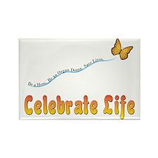 Celebrate Life Rectangle Magnet (10 pack)