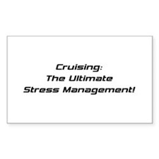 Cruising The Ultimate Stress Management Decal