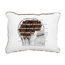 Caffeine Mantra Rectangular Canvas Pillow