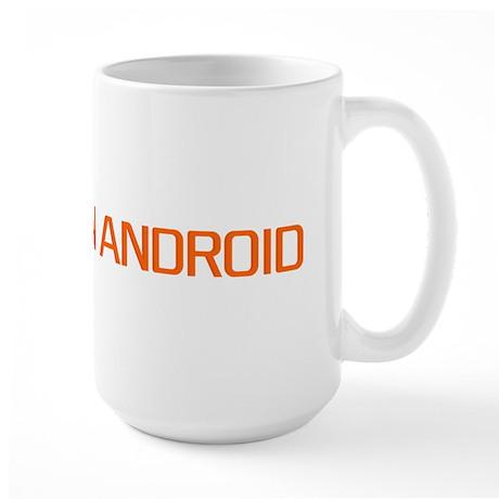 LinuxonAndroid large logo Large Mug