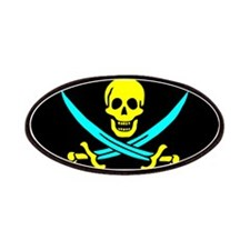 Pirate flag e6 Patches