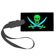 Pirate flag e5 Luggage Tag