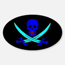 Pirate flag e4 Decal
