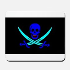 Pirate flag e4 Mousepad