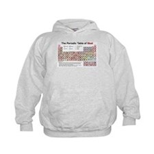 The Periodic Table of Meat Hoodie
