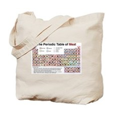 The Periodic Table of Meat Tote Bag