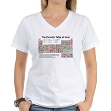 The Periodic Table of Meat Shirt
