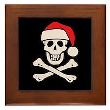 Cap'n Claus Framed Tile