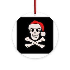 Cap'n Claus Ornament (Round)