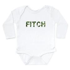 Fitch, Vintage Camo, Long Sleeve Infant Bodysuit