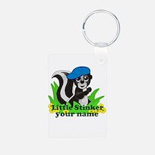 Personalized Little Stinker (Boy) Keychains