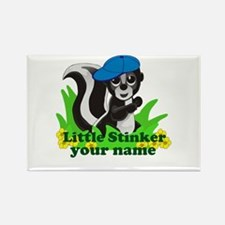 Personalized Little Stinker (Boy) Rectangle Magnet