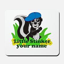 Personalized Little Stinker (Boy) Mousepad
