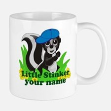 Personalized Little Stinker (Boy) Mug