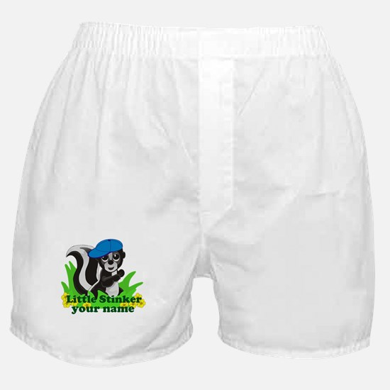 Personalized Little Stinker (Boy) Boxer Shorts