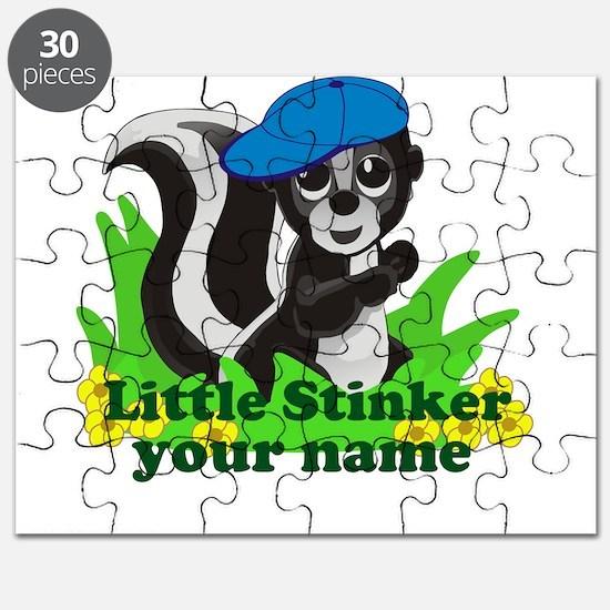 Personalized Little Stinker (Boy) Puzzle