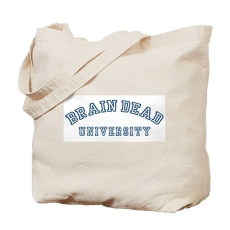 Brain Dead University Tote Bag