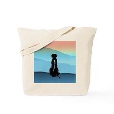 Blue Mt Ridgeback Tote Bag