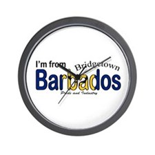 Bridgetown Barbados Wall Clock