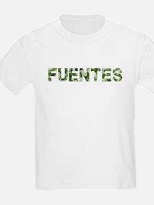 Fuentes, Vintage Camo, T-Shirt
