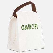 Gabor, Vintage Camo, Canvas Lunch Bag
