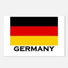Germany Flag Merchandise Postcards (Package of 8)