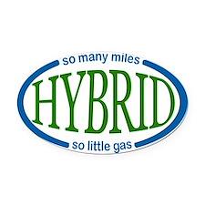 Hybrid Car Magnet Oval Car Magnet