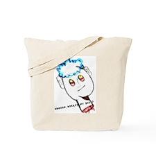 funny head Tote Bag