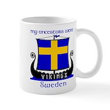 Swedish Viking Ancestors Small Mugs