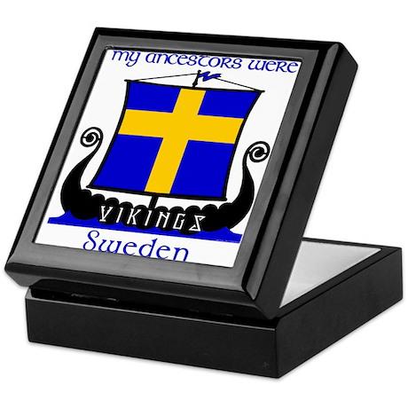 Swedish Viking Ancestors Keepsake Box