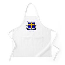 Swedish Viking Ancestors BBQ Apron