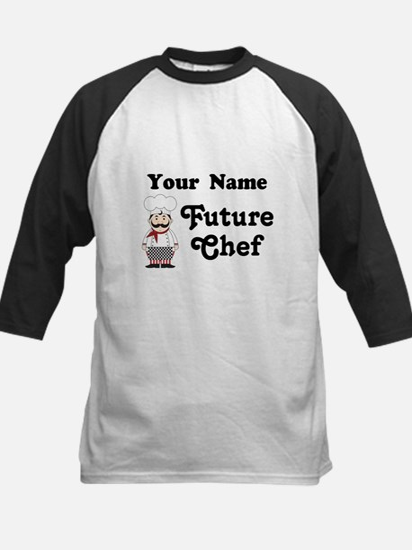 Personalized Future Chef Kids Baseball Jersey