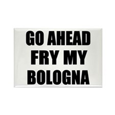 Fry My Bologna Rectangle Magnet (10 pack)