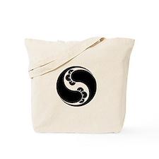 Changed shape two clove swirls Tote Bag