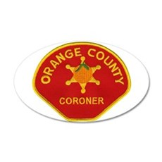 Orange County Coroner Wall Decal