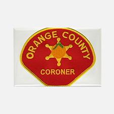 Orange County Coroner Rectangle Magnet