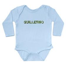 Guillermo, Vintage Camo, Long Sleeve Infant Bodysu