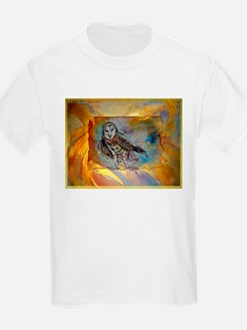 Owl, wildlife, bird, art! T-Shirt