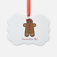Gingerbread Girl #3 Ornament