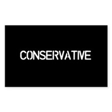 Conservative (Oval) Decal