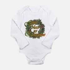 God Bless Us Everyone Long Sleeve Infant Bodysuit