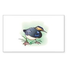 Sand Piper Bird Rectangle Decal