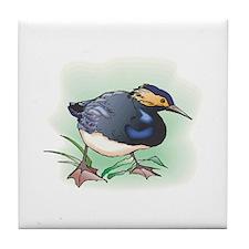 Sand Piper Bird Tile Coaster