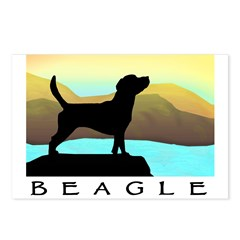 beagle by the sea Postcards (Package of 8)